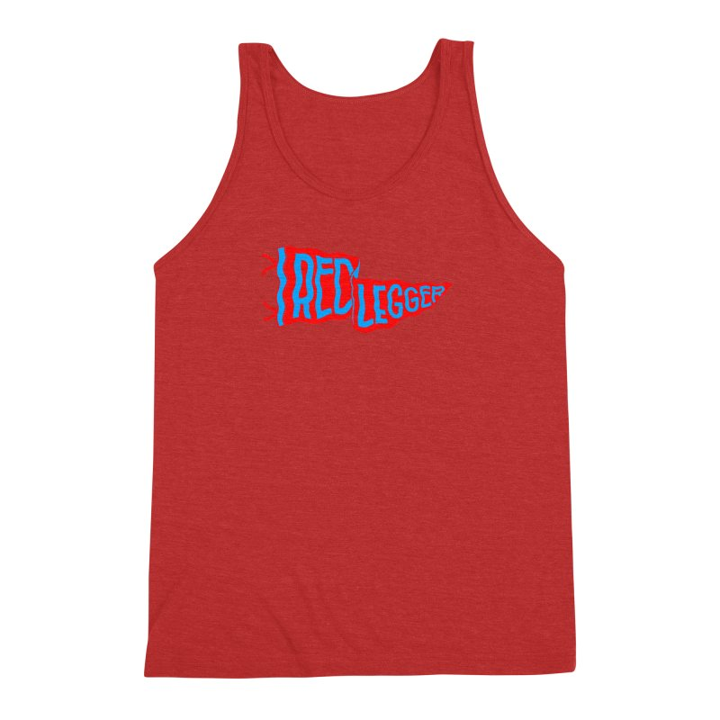 RED LEGGER PENNANT Men's Triblend Tank by redleggerstudio's Shop