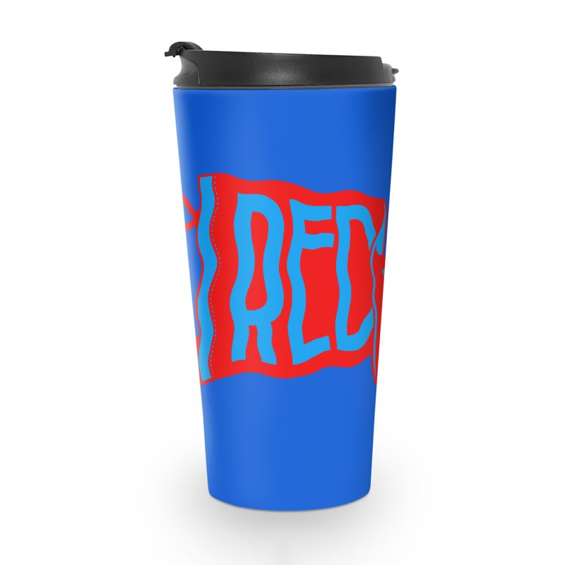 RED LEGGER PENNANT Accessories Travel Mug by redleggerstudio's Shop