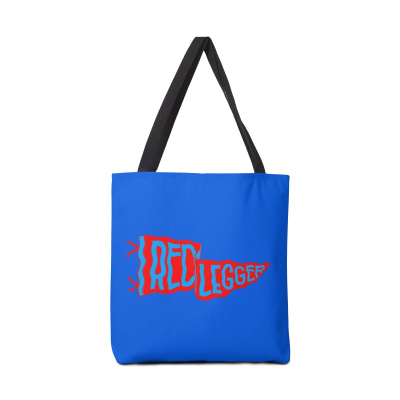 RED LEGGER PENNANT Accessories Tote Bag Bag by redleggerstudio's Shop