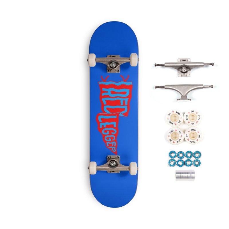 RED LEGGER PENNANT Accessories Complete - Premium Skateboard by redleggerstudio's Shop