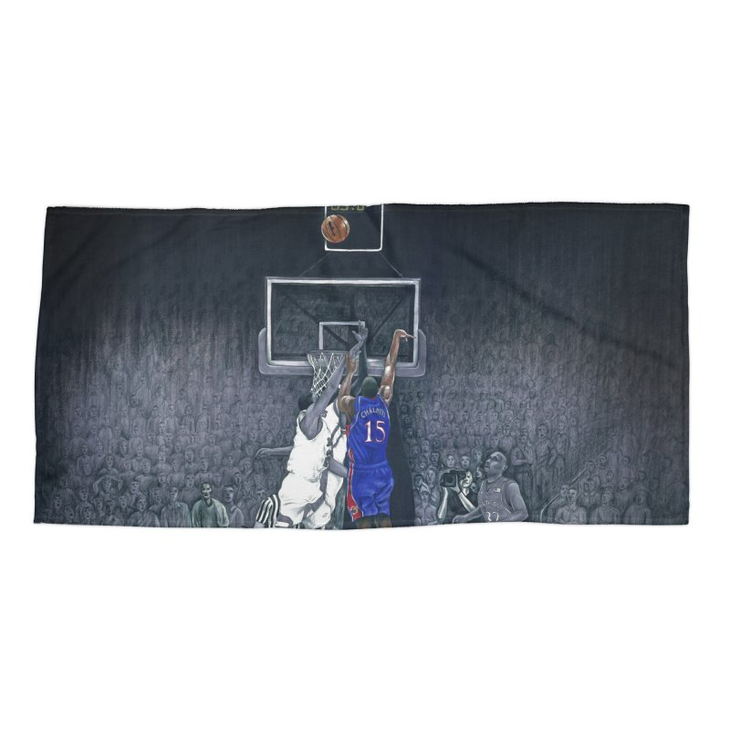 The Shot Accessories Beach Towel by redleggerstudio's Shop