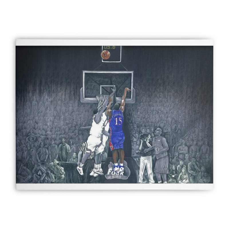 The Shot Home Stretched Canvas by redleggerstudio's Shop