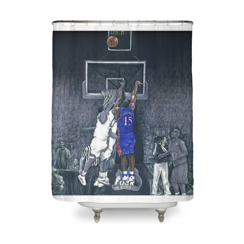 The Shot Home Shower Curtain by redleggerstudio's Shop
