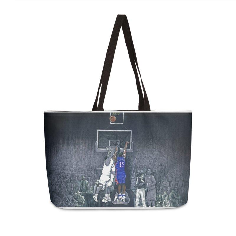The Shot Accessories Weekender Bag Bag by redleggerstudio's Shop