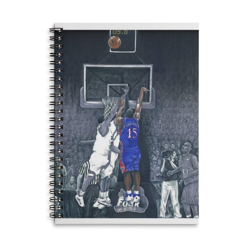 The Shot Accessories Lined Spiral Notebook by redleggerstudio's Shop