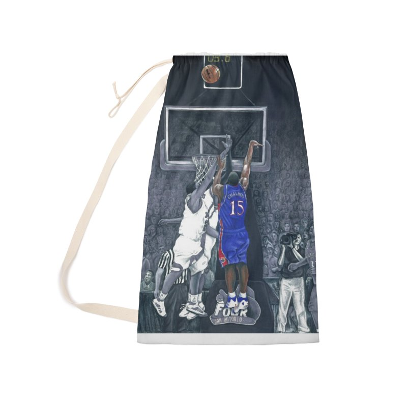 The Shot Accessories Laundry Bag Bag by redleggerstudio's Shop