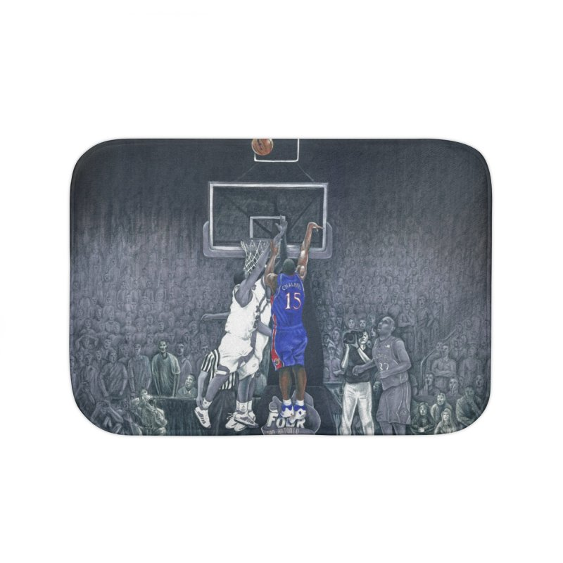 The Shot Home Bath Mat by redleggerstudio's Shop