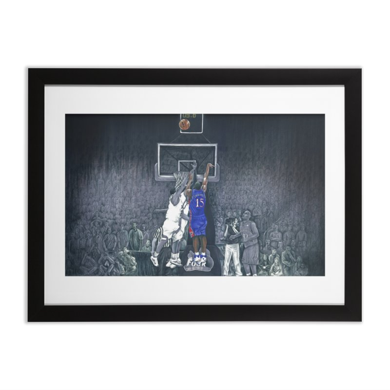 The Shot Home Framed Fine Art Print by redleggerstudio's Shop