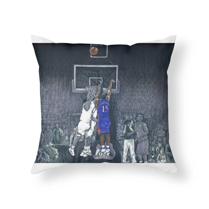The Shot Home Throw Pillow by redleggerstudio's Shop