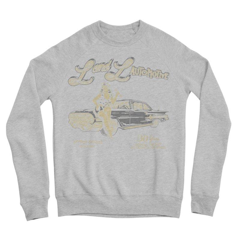 L and L Automotive Women's Sponge Fleece Sweatshirt by redleggerstudio's Shop