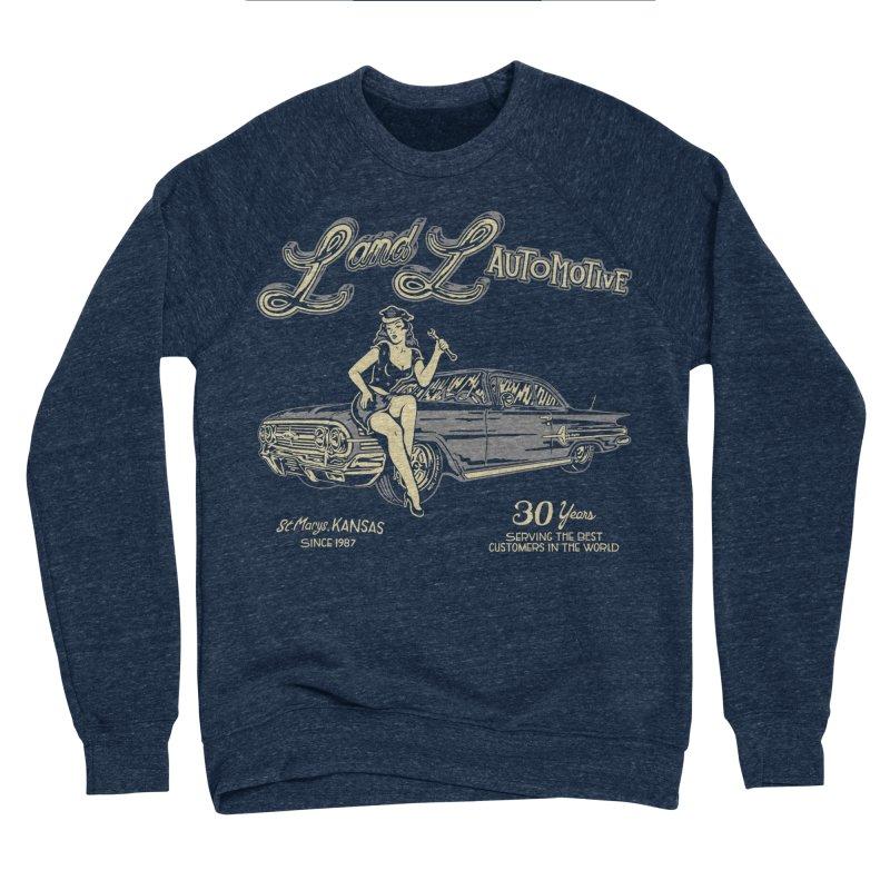 L and L Automotive Men's Sponge Fleece Sweatshirt by redleggerstudio's Shop