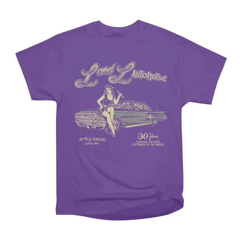 L and L Automotive Women's Heavyweight Unisex T-Shirt by redleggerstudio's Shop