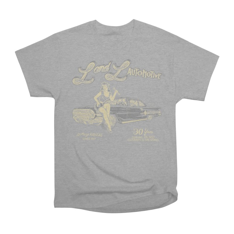 L and L Automotive Men's Heavyweight T-Shirt by redleggerstudio's Shop
