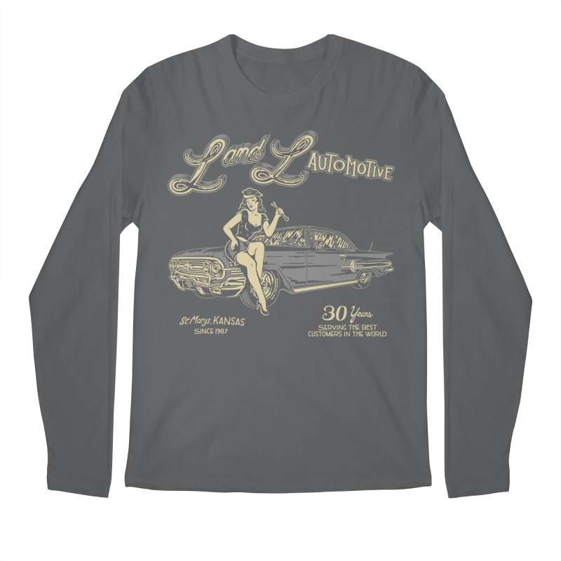 L and L Automotive Men's Regular Longsleeve T-Shirt by redleggerstudio's Shop