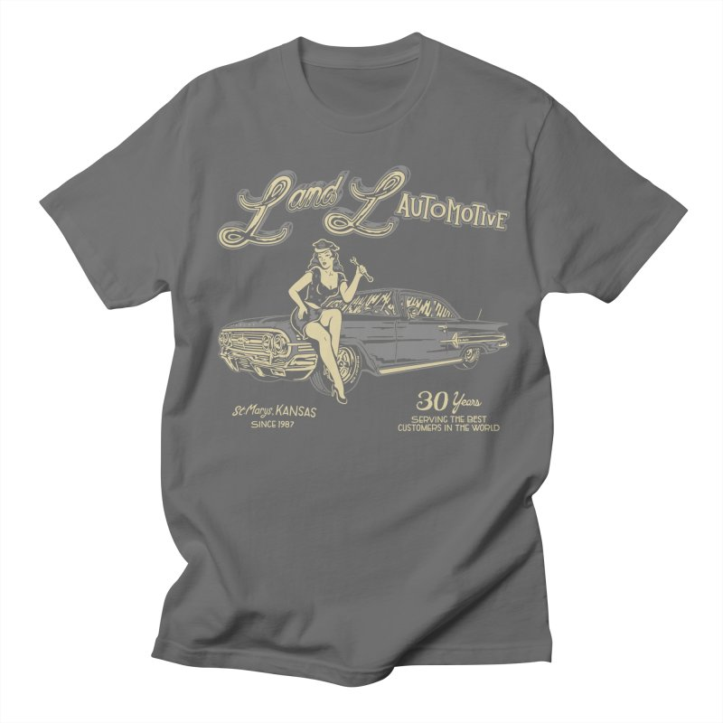 L and L Automotive Women's Regular Unisex T-Shirt by redleggerstudio's Shop