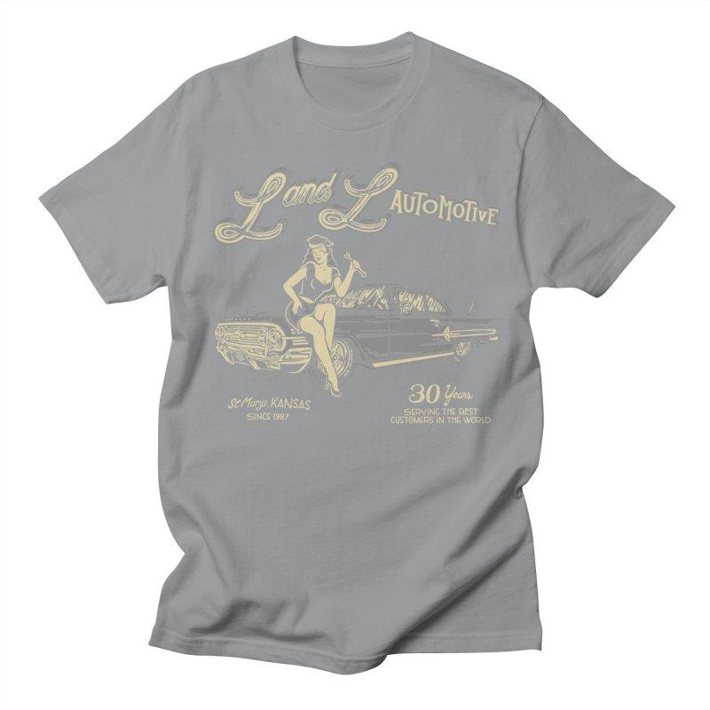 L and L Automotive Men's Regular T-Shirt by redleggerstudio's Shop