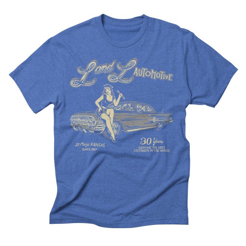L and L Automotive Men's Triblend T-Shirt by redleggerstudio's Shop