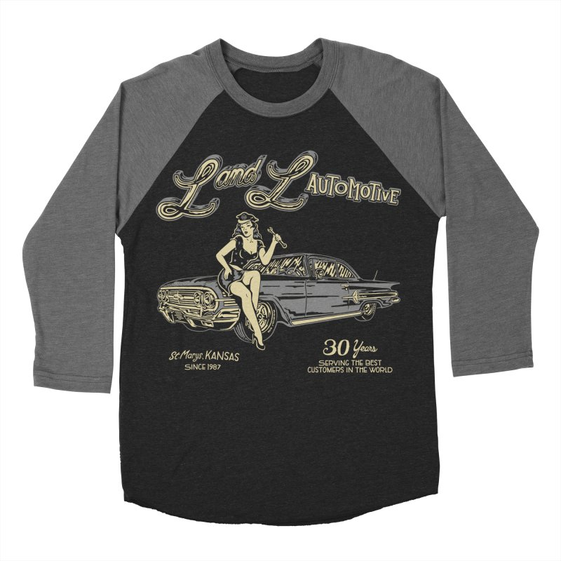 L and L Automotive Women's Baseball Triblend Longsleeve T-Shirt by redleggerstudio's Shop