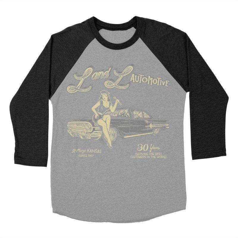 L and L Automotive Men's Baseball Triblend Longsleeve T-Shirt by redleggerstudio's Shop