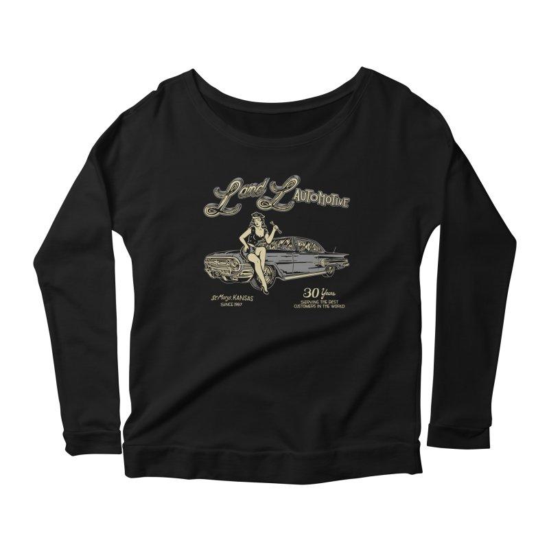 L and L Automotive Women's Scoop Neck Longsleeve T-Shirt by redleggerstudio's Shop