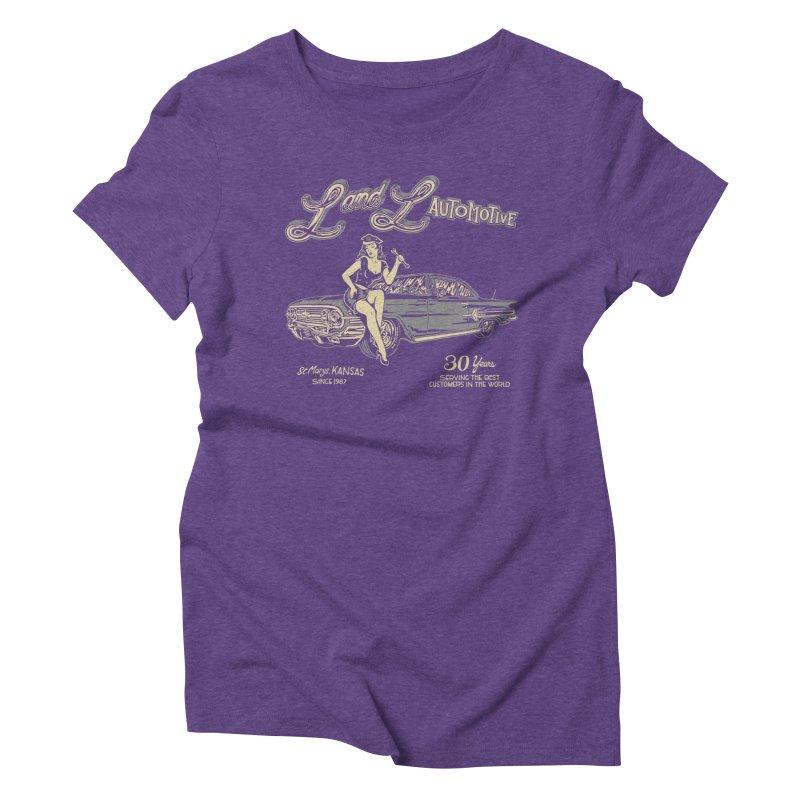 L and L Automotive Women's Triblend T-Shirt by redleggerstudio's Shop