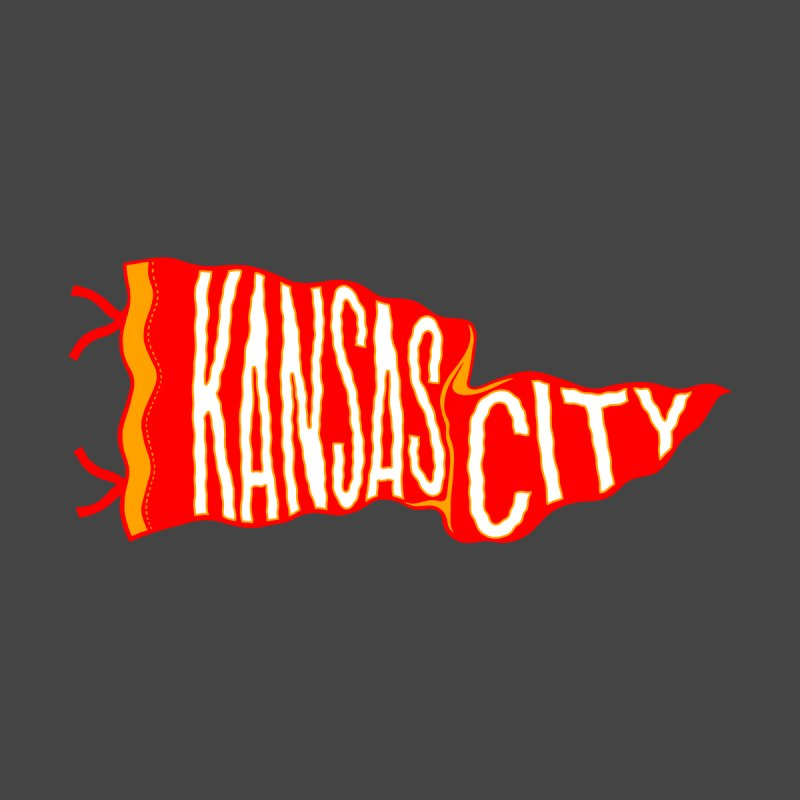 Kansas City Pennant No. 2 by redleggerstudio's Shop