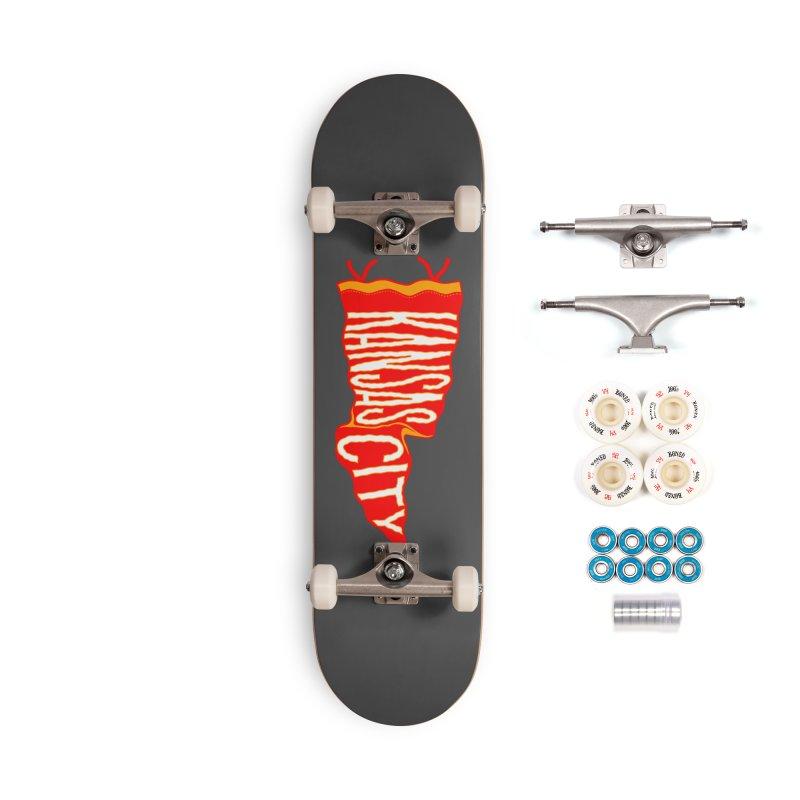 Kansas City Pennant No. 2 Accessories Complete - Premium Skateboard by redleggerstudio's Shop