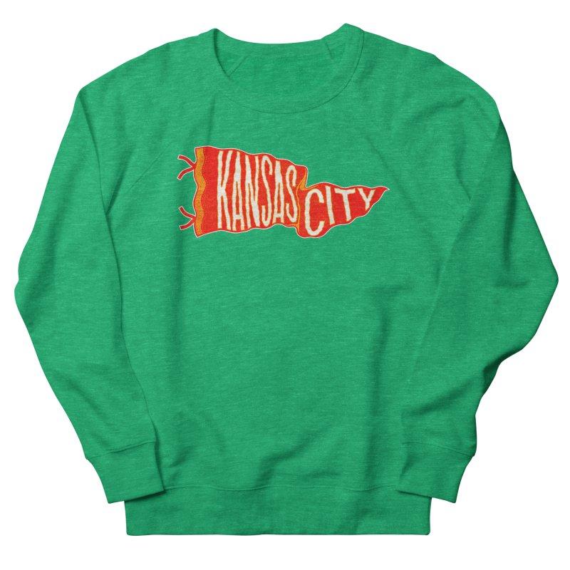 Kansas City Pennant No. 2 Women's Sweatshirt by redleggerstudio's Shop