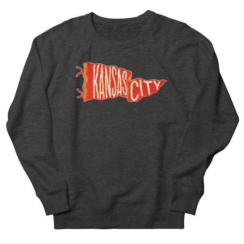 Kansas City Pennant No. 2 Men's French Terry Sweatshirt by redleggerstudio's Shop