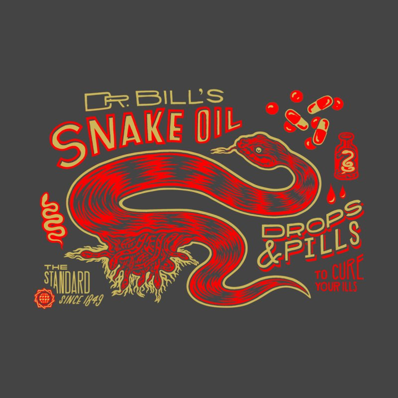 Snake Oil No. 2 by redleggerstudio's Shop