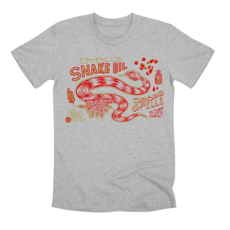 Snake Oil No. 2 Men's Premium T-Shirt by redleggerstudio's Shop