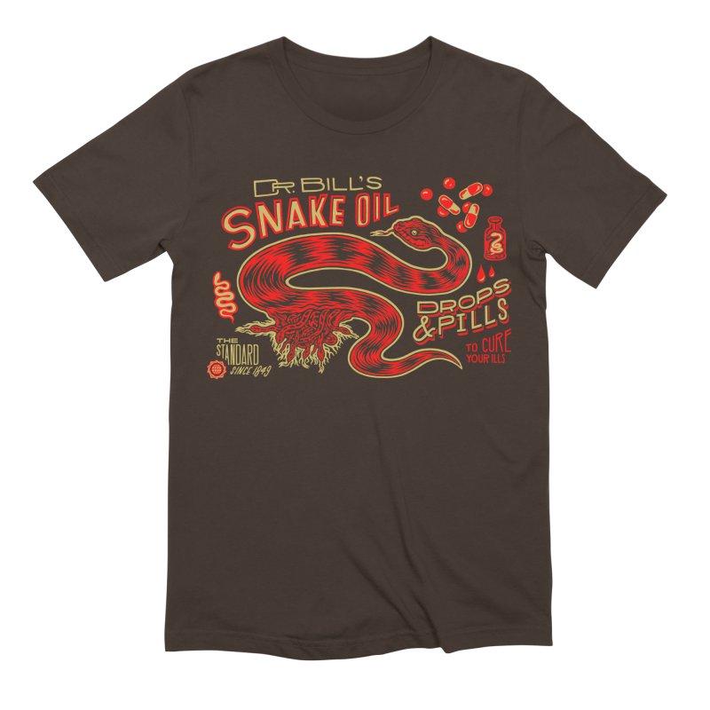 Snake Oil No. 2 Men's Extra Soft T-Shirt by redleggerstudio's Shop