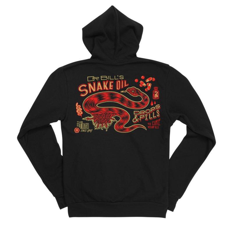 Snake Oil No. 2 Women's Sponge Fleece Zip-Up Hoody by redleggerstudio's Shop