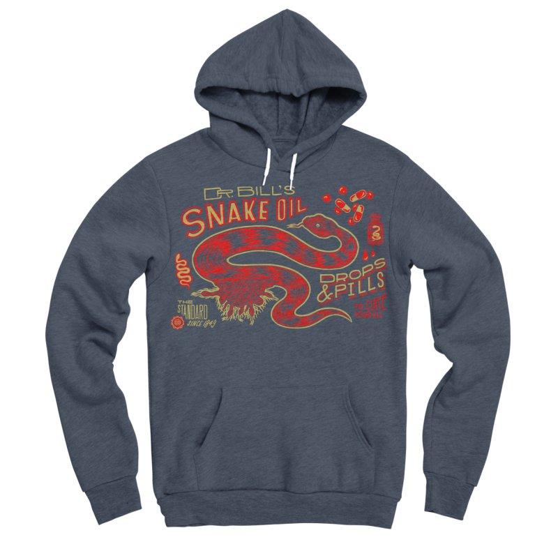 Snake Oil No. 2 Men's Sponge Fleece Pullover Hoody by redleggerstudio's Shop