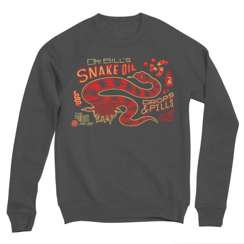 Snake Oil No. 2 Men's Sponge Fleece Sweatshirt by redleggerstudio's Shop