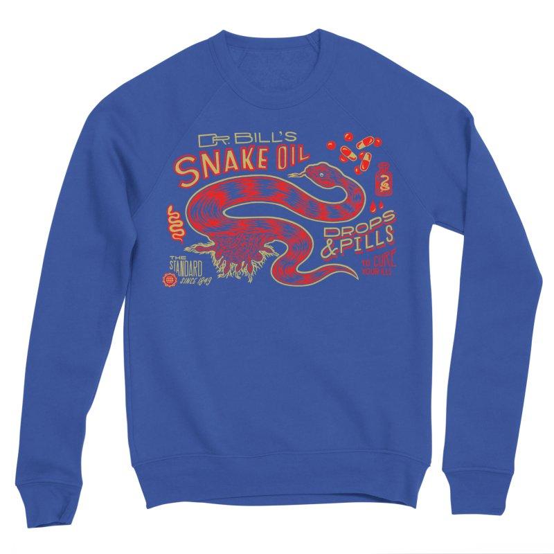 Snake Oil No. 2 Women's Sponge Fleece Sweatshirt by redleggerstudio's Shop