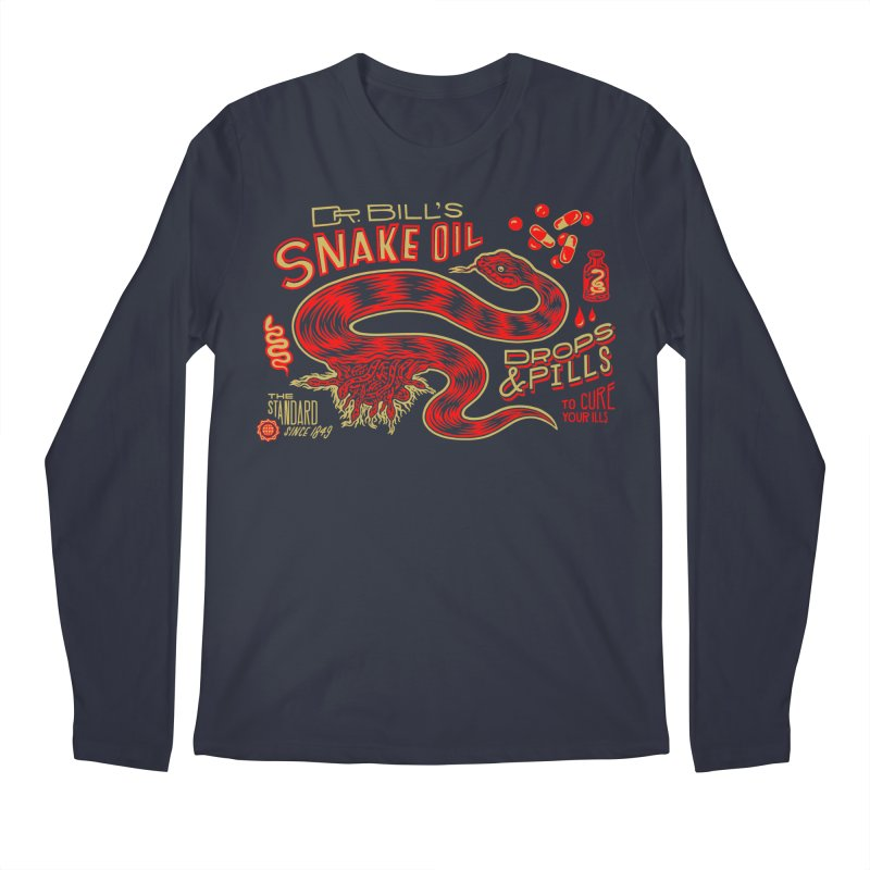 Snake Oil No. 2 Men's Regular Longsleeve T-Shirt by redleggerstudio's Shop