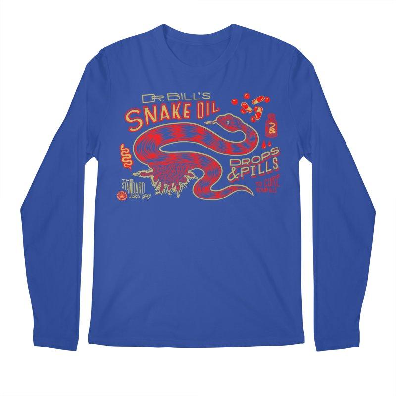 Snake Oil No. 2 Men's Regular Longsleeve T-Shirt by redleggerstudio's Shop