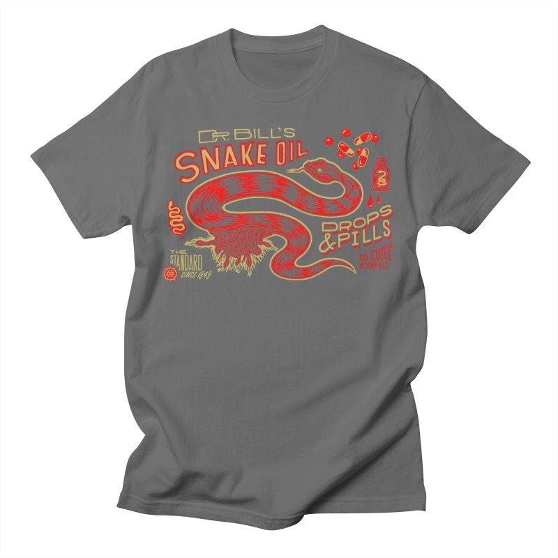 Snake Oil No. 2 Men's T-Shirt by redleggerstudio's Shop