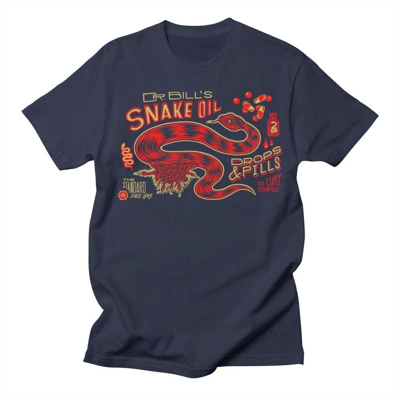 Snake Oil No. 2 Men's Regular T-Shirt by redleggerstudio's Shop