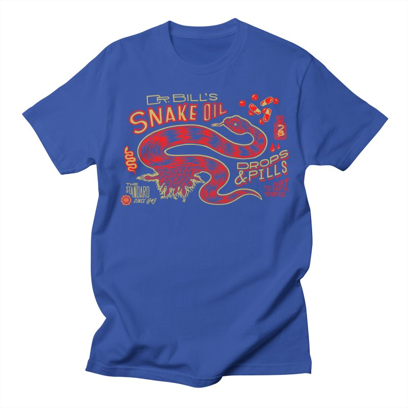 Snake Oil No. 2 Women's Regular Unisex T-Shirt by redleggerstudio's Shop