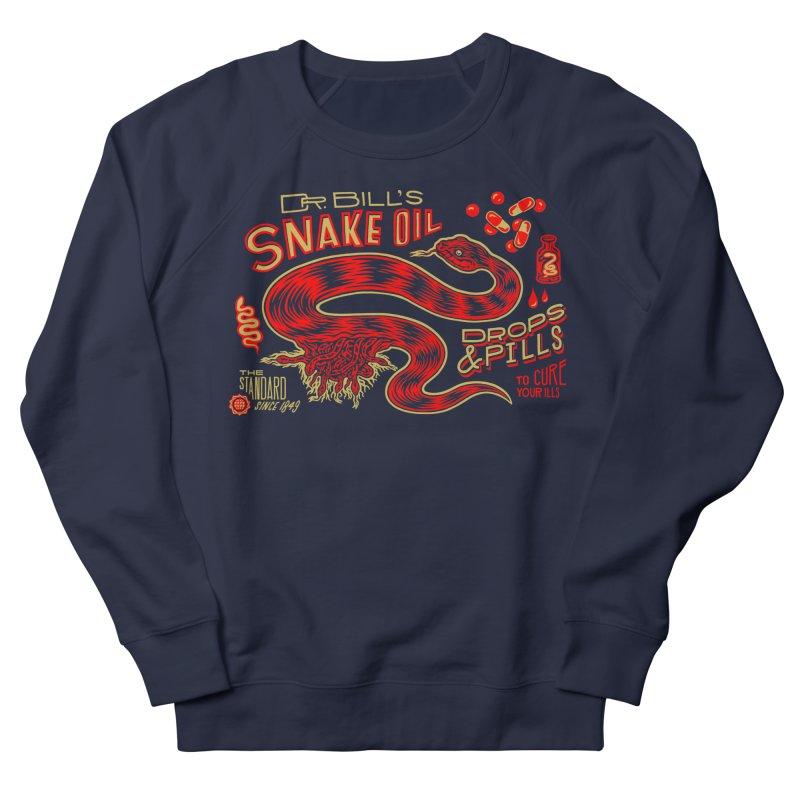Snake Oil No. 2 Women's French Terry Sweatshirt by redleggerstudio's Shop
