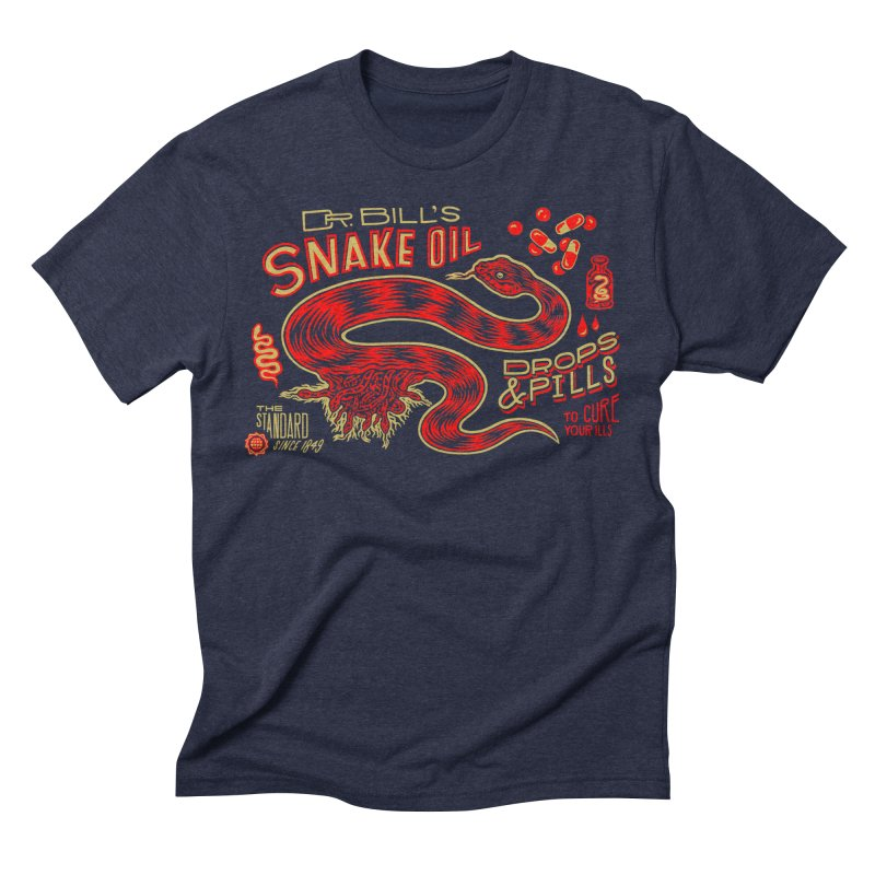 Snake Oil No. 2 Men's Triblend T-Shirt by redleggerstudio's Shop