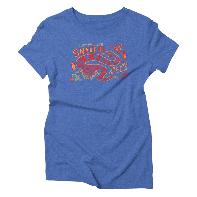 Snake Oil No. 2 Women's Triblend T-Shirt by redleggerstudio's Shop