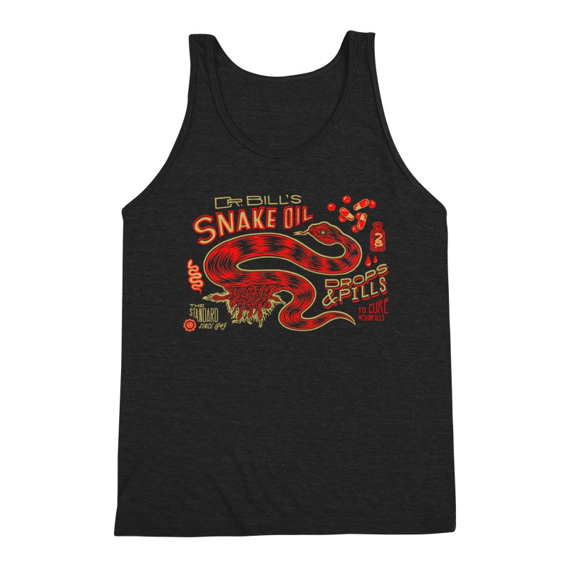 Snake Oil No. 2 Men's Triblend Tank by redleggerstudio's Shop