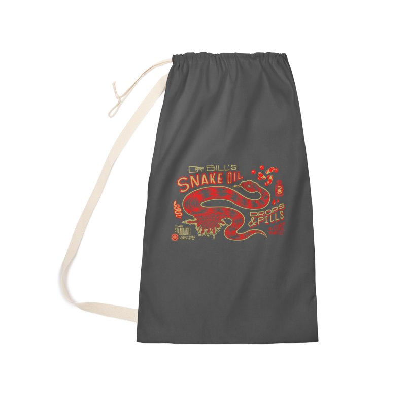 Snake Oil No. 2 Accessories Laundry Bag Bag by redleggerstudio's Shop