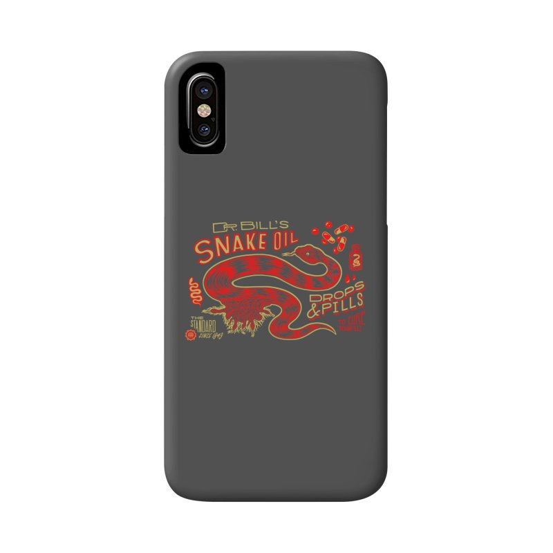 Snake Oil No. 2 Accessories Phone Case by redleggerstudio's Shop