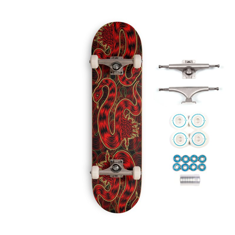 Snake Oil No. 2 Accessories Complete - Basic Skateboard by redleggerstudio's Shop