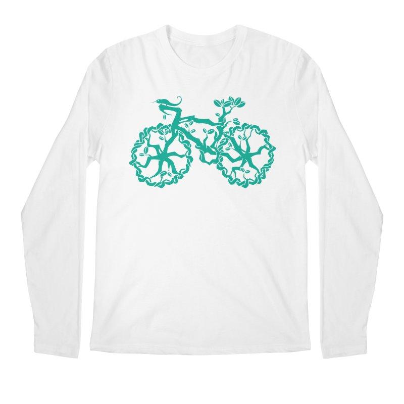 Bike Tree Men's Longsleeve T-Shirt by redmunky's Artist Shop