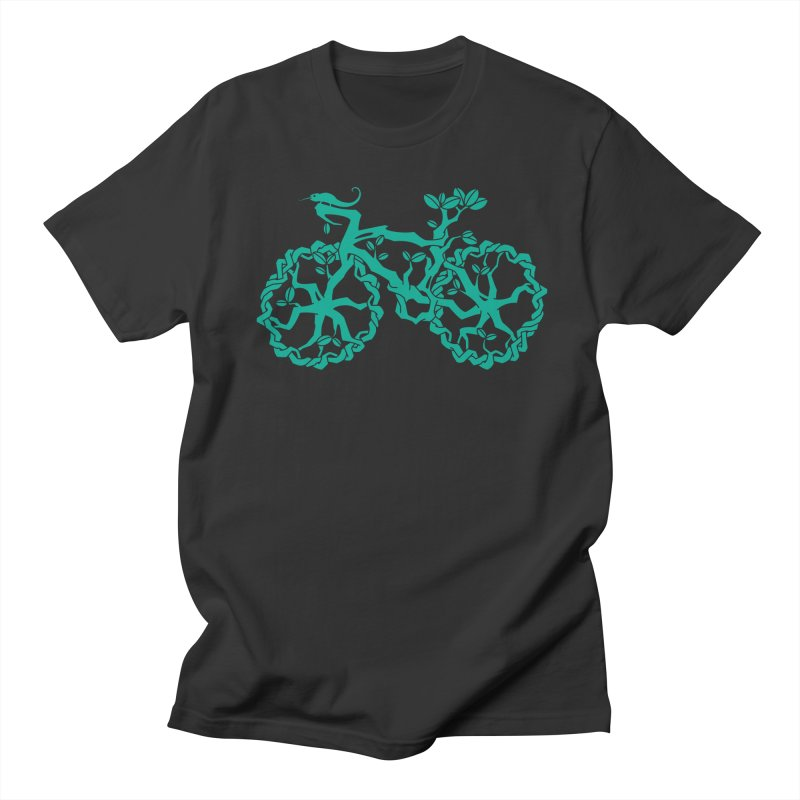 Bike Tree Men's T-shirt by redmunky's Artist Shop